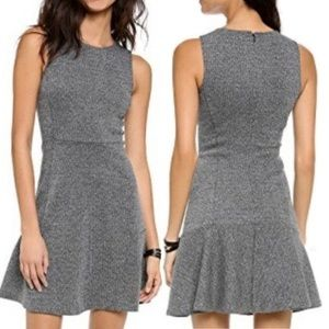 THEORY Tweed Fit & Flare Dress - Size 6